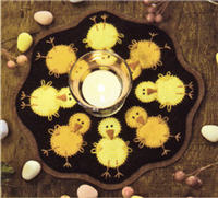 Bareroots chicks candle mat