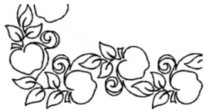 Apple Orchard Border 4""