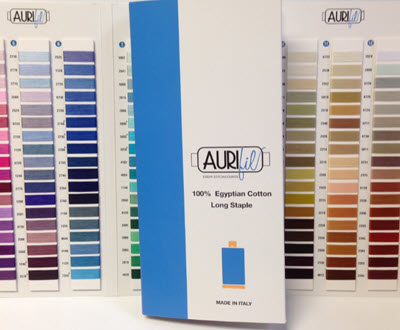 Real Thread Charts And Color Cards For Aurifil Thread And Mettler Thread
