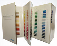 mettler color card color chart with real cotton thread - Aurifil Thread Color Chart