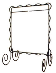 Free Standing Displays for your table top. Decorative Wire Hangers ...